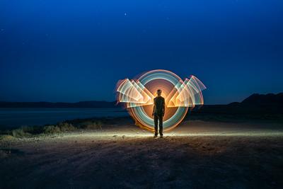 Light Magic On The Playa