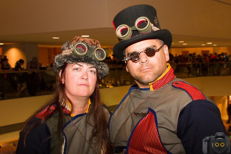 Steampunk of Cosplay at DragonCon 2015