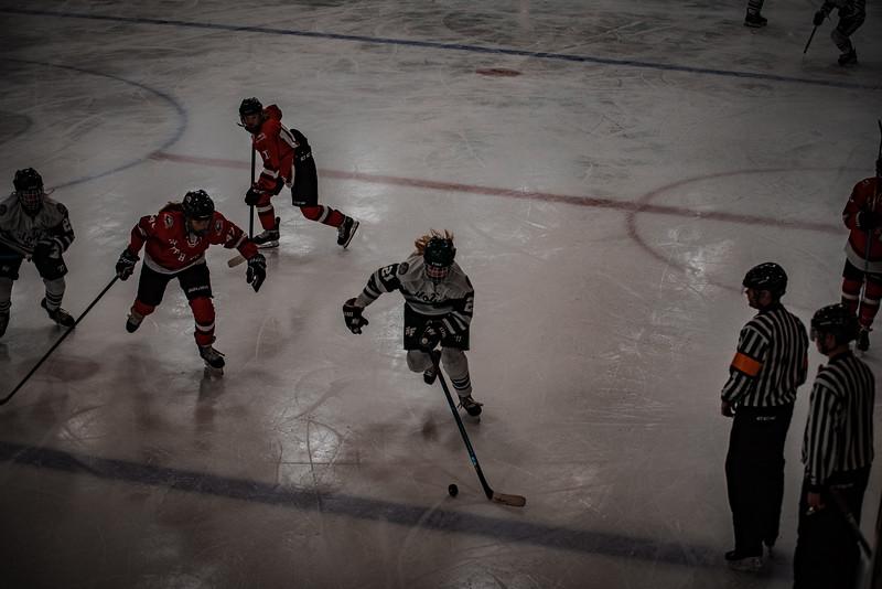 Holy Family Girls Varsity Hockey vs. Mound Westonka, 12/10/19: Libby Kamp '22 (21)