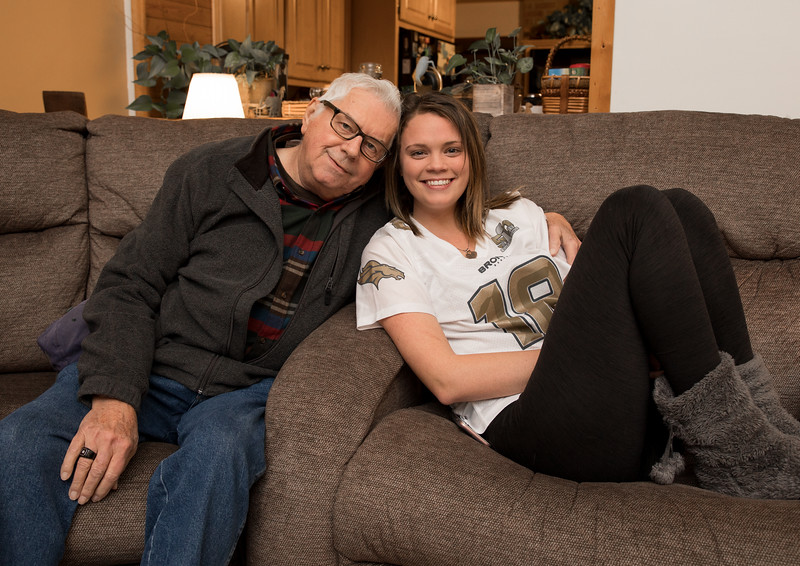 Badge and Aly on couch Christmas Eve.jpg