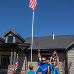 Army SFC Travis Vendela Home Dedication