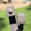 .91ctw Old European Cut Diamond Clover Earrings 0