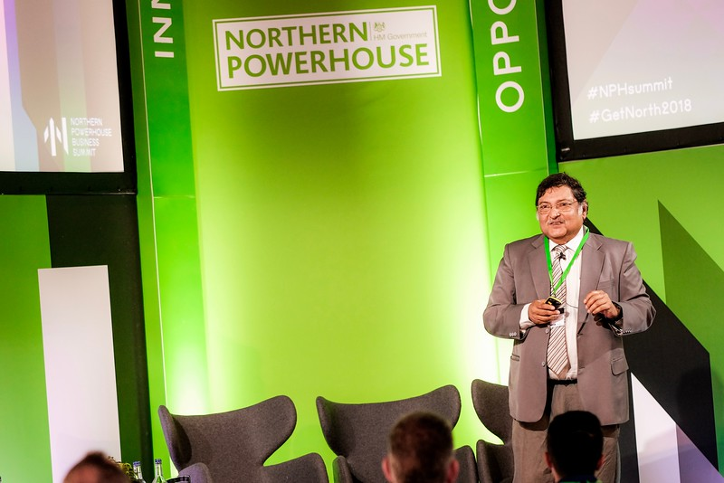 Northern Powerhouse Business Summit @ Boiler Shop, Newcastle. 04.07.18