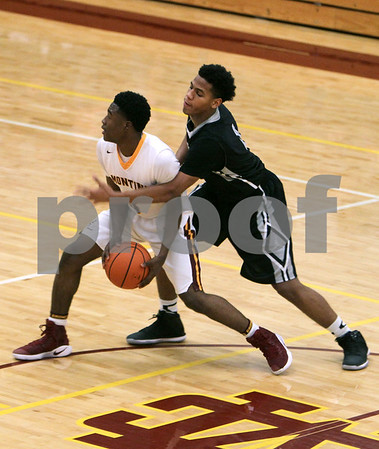 Fenwick at Montini boys basketball in Chicago Catholic League game