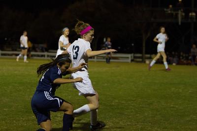 2014-01-14 Varsity Girls Soccer vs Holy Cross