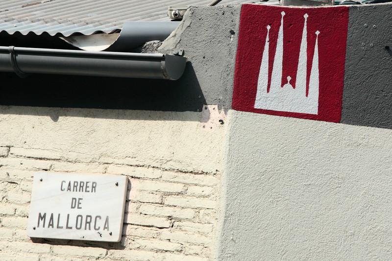 Near Sagrada Familia