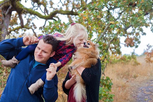 Siebert-Baxter Family Fall 2017