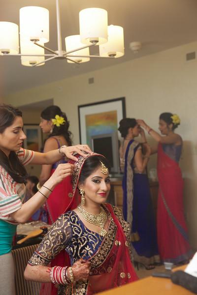 Le Cape Weddings - Indian Wedding - Day 4 - Megan and Karthik Bride Getting Ready 15.jpg
