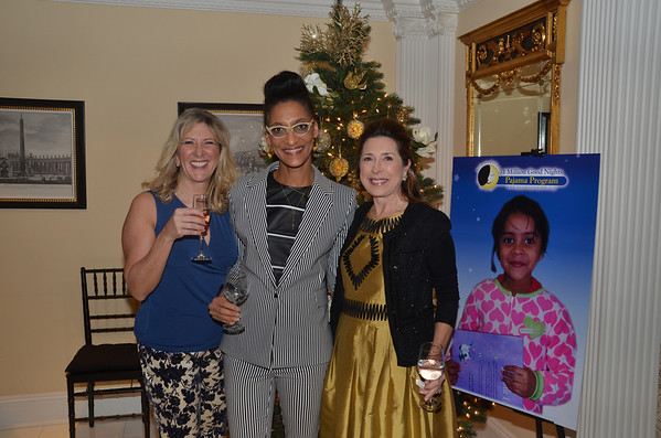 Dec 10, 2013-Ann Van Ness hosts The Pajama Program
