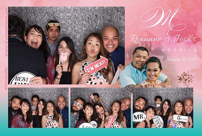 Roxanne & Jose's Wedding (LED Open Air Photo Booth)