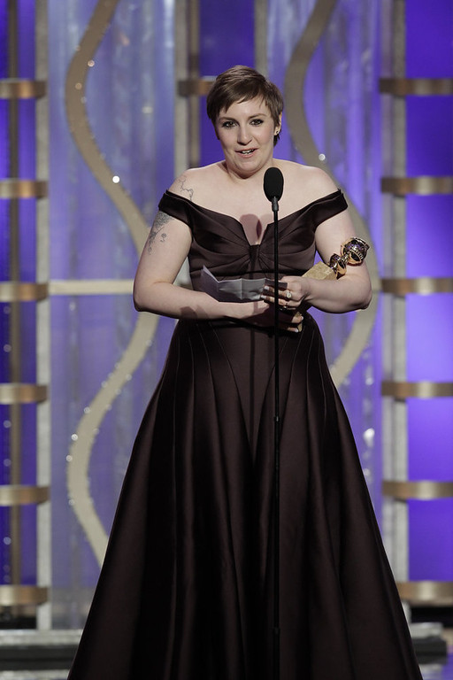 . Best Actress in a Television Series - Comedy or Musical: Lena Dunham, Girls
