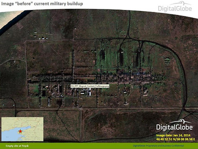 Russian Military Buildup Near Ukraine's Eastern Provinces