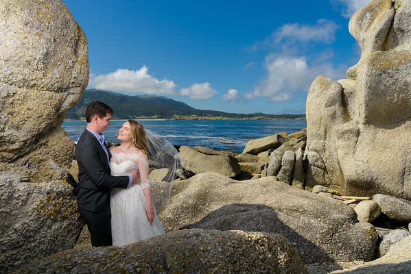 Allie and Will Elopement @ Stewart's Cove, Carmel, CA
