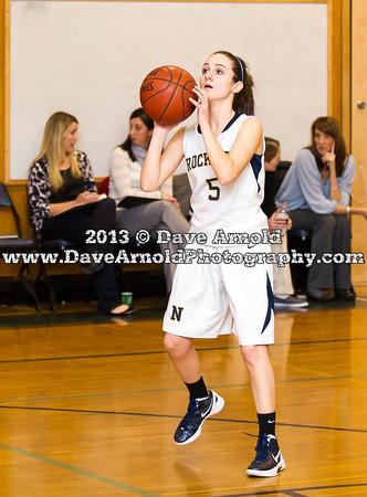 1/15/2013 - Girls Varsity Basketball - Newton North vs Needham
