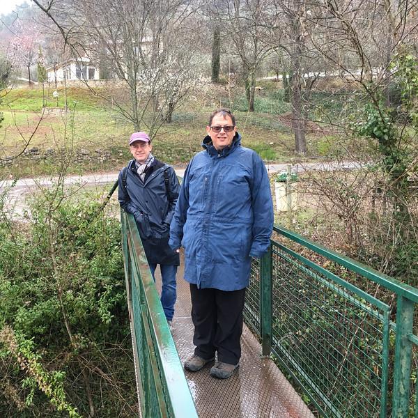 Le Menon, a small creek near Buis-les-Baronnies
