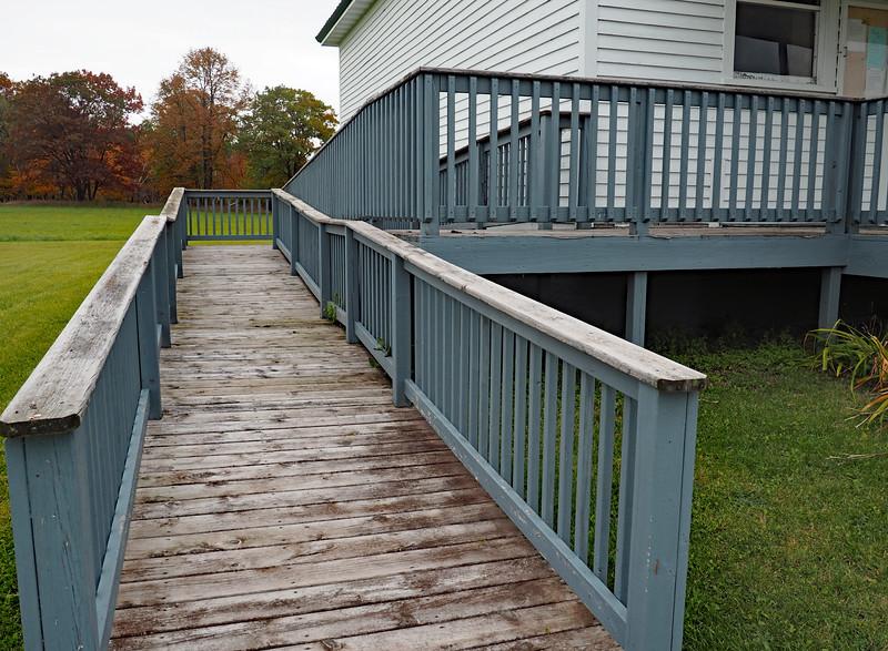 Burleene Town Hall access ramp