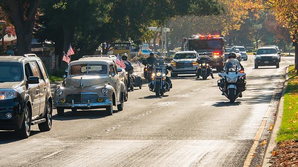 Rotary Veteran's Day Parade - John  Burgh