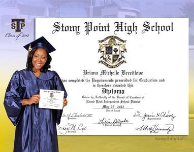 2012 Stony Point Keedjit™ Diploma