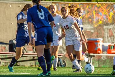 Hanover Girls Soccer VS Milford Div 2 Preliminary Round