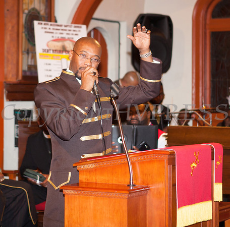 Rev Dr Pogue Installation