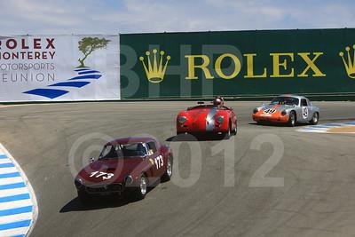 2012 RMMR Sat Group 4A Rolex Monterey Motorsport Reunion Race Group 4A