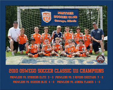 2010 Oswego Soccer Classic Team 8x10