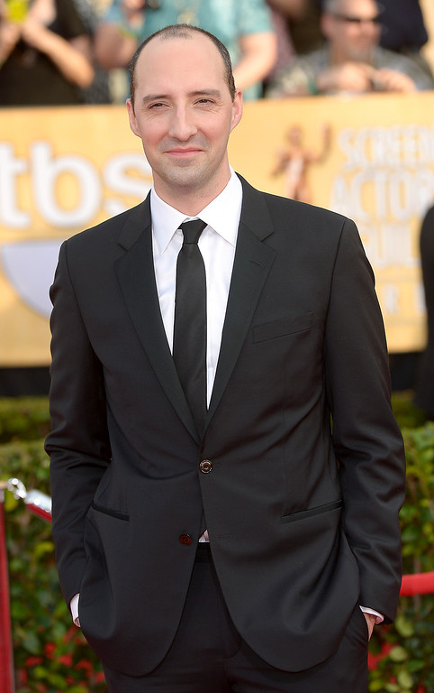 . Tony Hale arrives at the 20th Annual Screen Actors Guild Awards  at the Shrine Auditorium in Los Angeles, California on Saturday January 18, 2014 (Photo by Michael Owen Baker / Los Angeles Daily News)