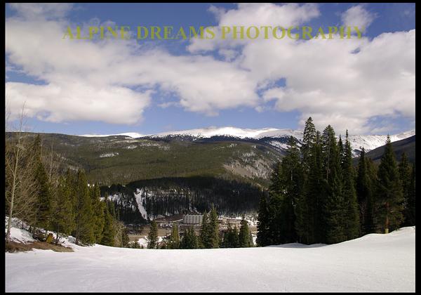 Alpine Dreams Skiing Images