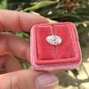 2.13ct Antique Pear Shape Diamond, GIA I, VS2 28