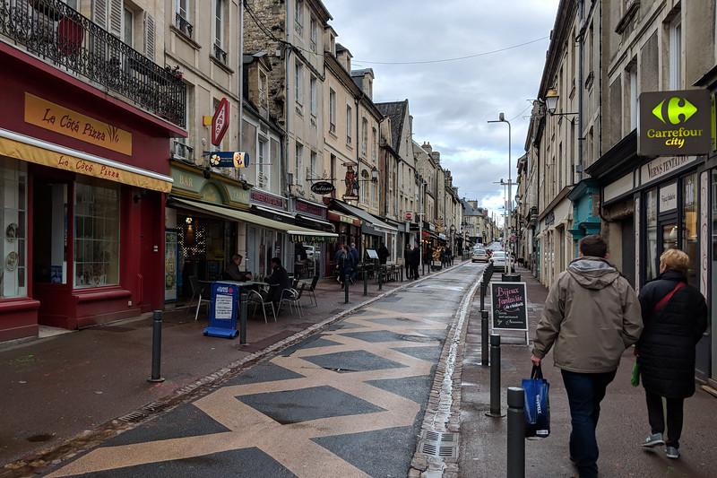 Downtown Bayeux