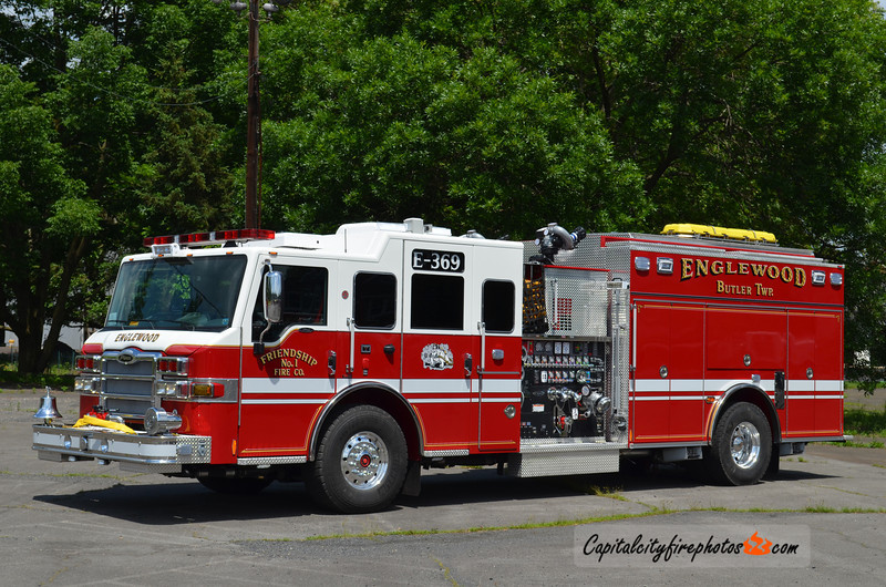 Englewood (Butler Township) Engine 369: 2013 Pierce Velocity 2000/1000/25