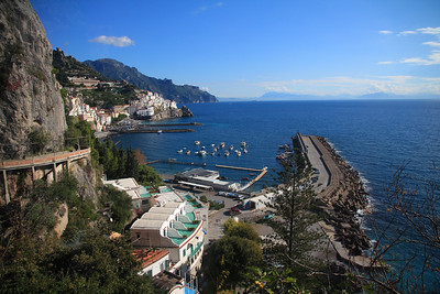 Sorrento,Amalfi Coast, Italy Nov 17