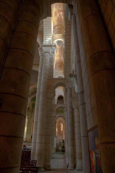 Saint-Hilaire-le-Grand Abbey Aisle Arches