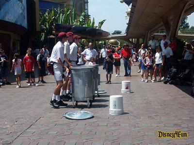 Disneyland August 2004