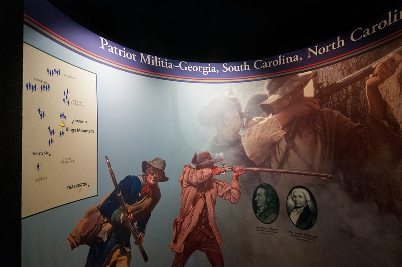 at Kings Mountain National Military Park