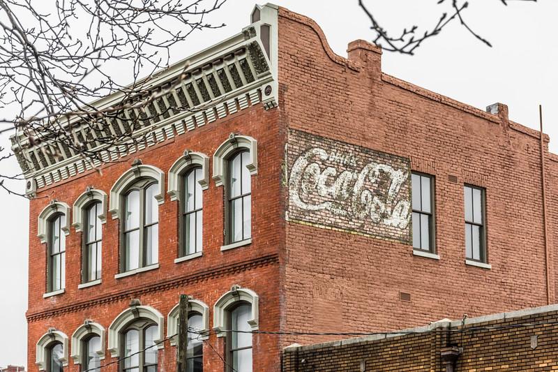 AL, Birmingham - Coca-Cola Wall Sign