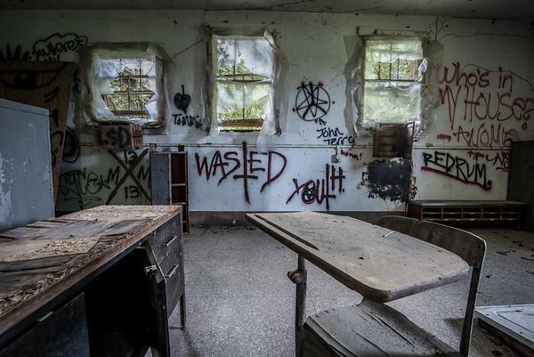 Old Louisiana Women's Asylum for the Criminally Insane