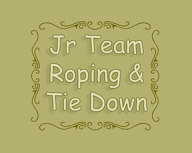 Irvine 2018 Jr Team and Tie Down