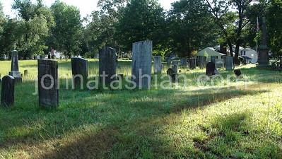 Southington Cemetery + Center Street - August 13, 2011
