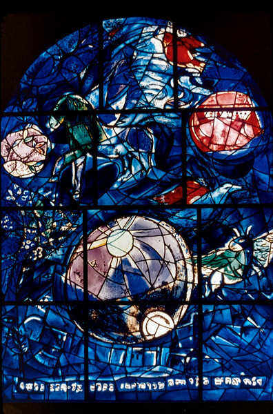 Chagall windows at Hadassah