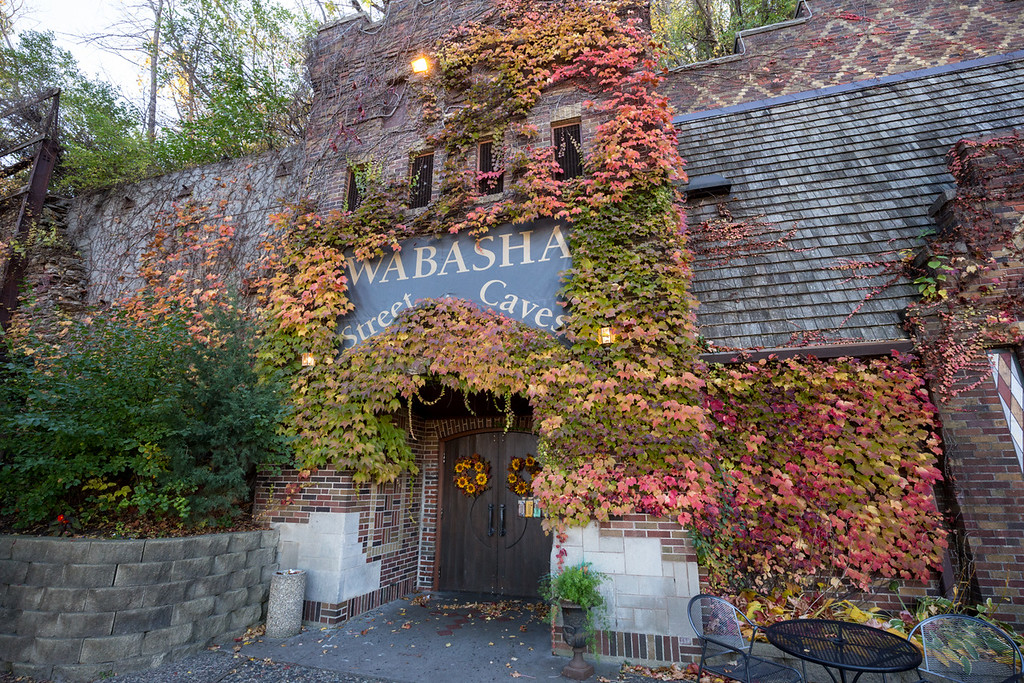 . At Wabasha Street Caves, one dapper ghostly fellow has been spotted more than once straightening his tie in the men�s restroom. He\'s assumed to be a gangster murdered at the caves. (Pioneer Press: Andy Rathbun)