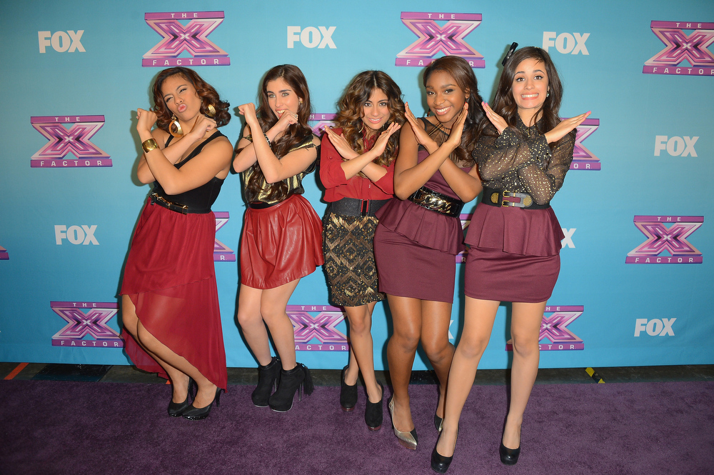 ". Fifth Harmony at Fox\'s ""The X Factor\"" Season Finale Night 2 at CBS Televison City on December 20, 2012 in Los Angeles, California.  (Photo by Frazer Harrison/Getty Images)"