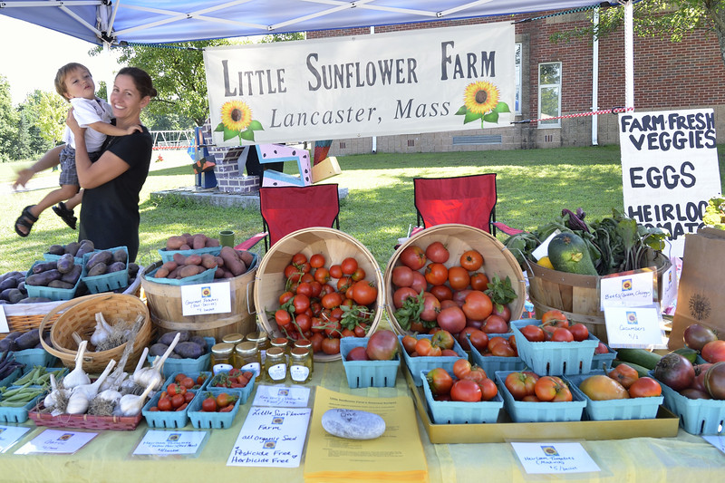 Sarah Cosentino and Vincent of Little Sunflower Farm