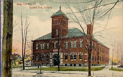 . Historic photo provided by Jim Smith <br> Garden Avenue School opened in 1893 and closed in 1938 on Garden Avenue and West 20th Street in Lorain.