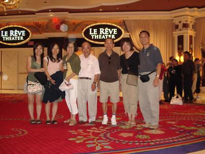 Las Vegas 2006 with family