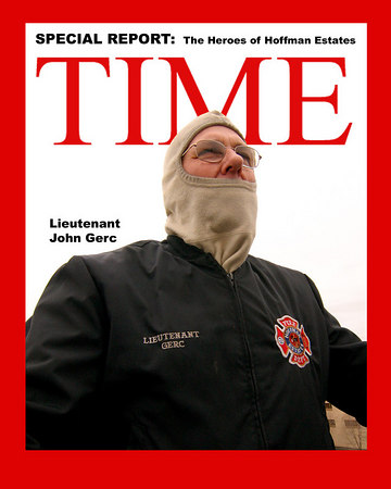 COD - Firefighters / Time Magazine Covers