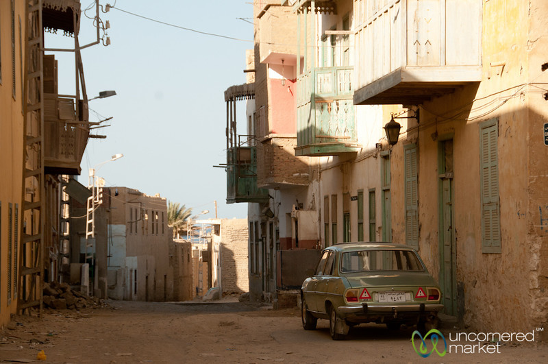 Egyptian Street Scene - El Quseir, Egypt