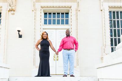 Tamara King Williams and Eugene Sharpe Engagement 050619