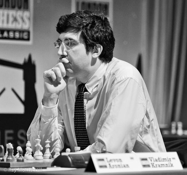 Vladimir Kramnik at the start of the final round