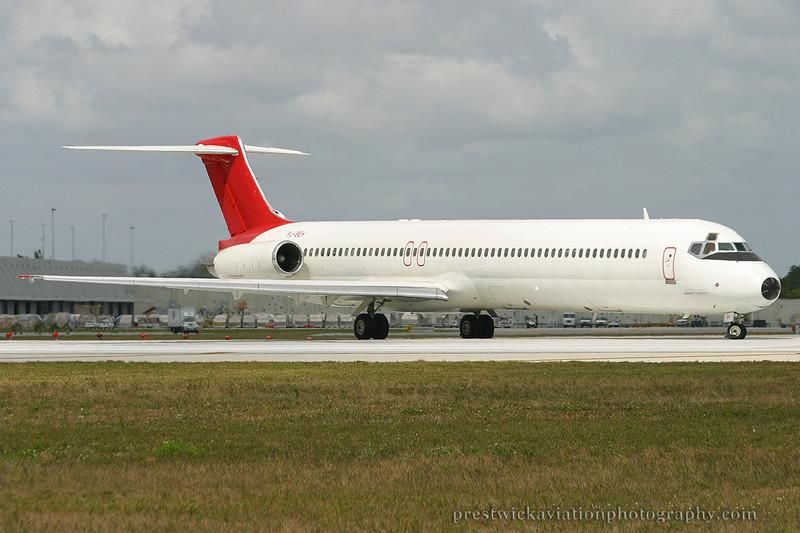 PJ-SEH. McDonnell Douglas MD-82. Dutch Caribbean Airlines. Miami. 030304.